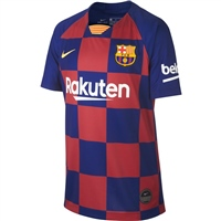 Nike FCB Barcelona Home Jersey 19/20 - Kids - Royal/Burgundy
