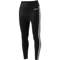 Adidas Womens D2M 7/8 Tight - Black/White