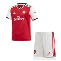 Adidas Arsenal FC Infant Home Kit 19/20 - Red/White