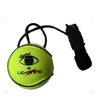 Lightning Eye-Ball Hurling Training Aid - Yellow/Black