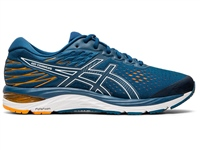 Asics Mens Gel Cumulus 21 - Mako Blue/White