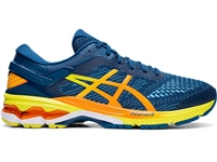 Asics Mens Gel Kayano 26 - Mako Blue/Sour Yuzu