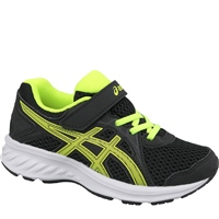 Asics Boys Jolt 2 PS Runners - Black/Safety Yellow