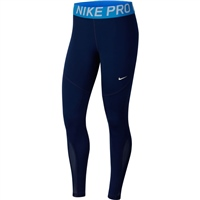 Nike Womens Pro Tights - Navy/Royal