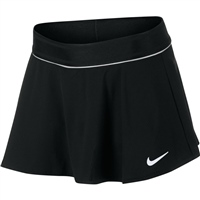 Nike Girls Flouncy Court Skirt - Black