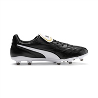 Puma King Top II FG Football Boots - Black/White
