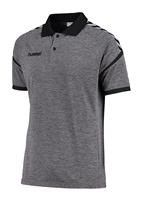 Hummel AUTHENTIC CHARGE FUNCTIONAL POLO - DARK GREY MELANGE