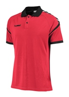 Hummel AUTHENTIC CHARGE FUNCTIONAL POLO - TRUE RED
