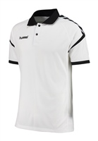Hummel AUTHENTIC CHARGE FUNCTIONAL POLO - WHITE