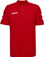 Hummel GO COTTON POLO - KIDS - TRUE RED