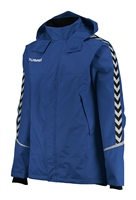 Hummel AUTHENTIC CHARGE ALL-WEATHER JKT - KIDS - TRUE BLUE/BLACK