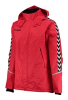 Hummel AUTHENTIC CHARGE ALL-WEATHER JKT - TRUE RED/BLACK