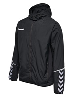 Hummel AUTHENTIC CHARGE FUNCTIONAL JACKET - BLACK/BLACK