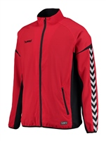 Hummel AUTHENTIC CHARGE MICRO ZIP JACKET - KIDS - TRUE RED