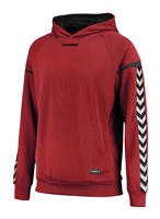 Hummel AUTHENTIC CHARGE POLY HOODIE - TRUE RED