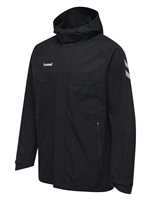 Hummel TECH MOVE ALL WEATHER JACKET - BLACK