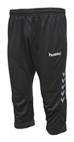 Hummel AUTHENTIC CHARGE 3/4 PANTS - KIDS - BLACK