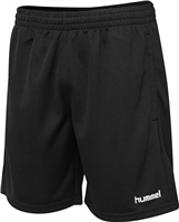 Hummel CORE POLY COACH SHORTS - KIDS - BLACK
