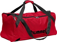 Hummel CORE SPORTS BAG - TRUE RED/BLACK