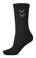 Hummel 3-Pack Basic Sock - BLACK