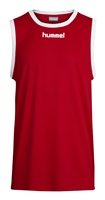 Hummel CORE BASKETBALL JERSEY - TRUE RED