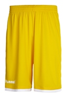 Hummel CORE BASKETBALL SHORTS - KIDS - SPORTS YELLOW
