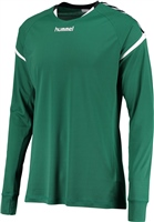 Hummel AUTHENTIC CHARGE LS POLY JERSEY - EVERGREEN