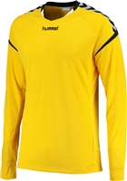 Hummel AUTHENTIC CHARGE LS POLY JERSEY - KIDS - SPORTS YELLOW