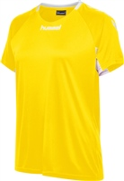 Hummel CORE TEAM JERSEY WOMAN S/S - SPORTS YELLOW