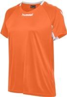 Hummel CORE TEAM JERSEY WOMAN S/S - TANGERINE