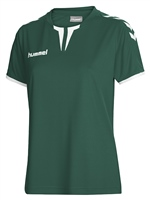 Hummel CORE WOMENS SS JERSEY - EVERGREEN