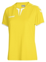 Hummel CORE WOMENS SS JERSEY - SPORTS YELLOW