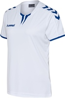 Hummel CORE WOMENS SS JERSEY - WHITE/TRUE BLUE