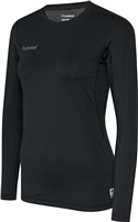 Hummel FIRST PERFORMANCE WOMEN JERSEY L/S - BLACK