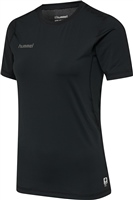 Hummel FIRST PERFORMANCE WOMEN JERSEY S/S - BLACK