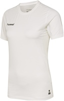 Hummel FIRST PERFORMANCE WOMEN JERSEY S/S - WHITE