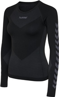 Hummel HUMMEL FIRST SEAMLESS JERSEY L/S WOMAN - BLACK