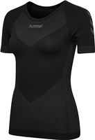 Hummel HUMMEL FIRST SEAMLESS JERSEY S/S WOMAN - BLACK