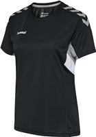Hummel TECH MOVE JERSEY WOMAN S/S - BLACK