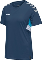 Hummel TECH MOVE JERSEY WOMAN S/S - SARGASSO SEA