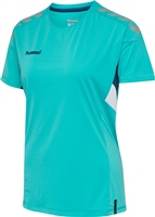 Hummel TECH MOVE JERSEY WOMAN S/S - SCUBA BLUE