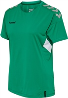 Hummel TECH MOVE JERSEY WOMAN S/S - SPORTS GREEN