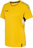 Hummel TECH MOVE JERSEY WOMAN S/S - SPORTS YELLOW