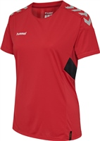 Hummel TECH MOVE JERSEY WOMAN S/S - TRUE RED