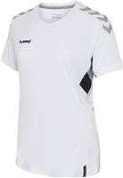 Hummel TECH MOVE JERSEY WOMAN S/S - WHITE