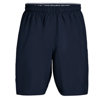 Under Armour Mens Woven Graphic Shorts - Navy/Grey