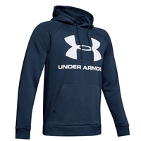 Under Armour Mens Rival Fleece Hoodie - Navy