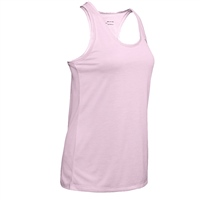 Under Armour Womens Tech Tank - Rose/Heather