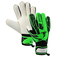 Precision Fusion X.3D Flat Cut Goalkeeping Glove - Green/Black
