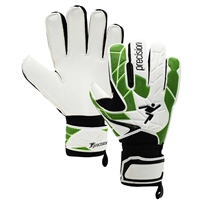 Precision Fusion X.3D Jr Basic Goalkeeper Gloves - White/Green/Black